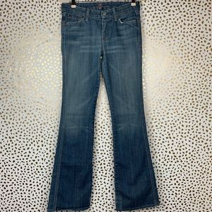 7 For All Mankind | Flare Light Wash Jeans Sz 27